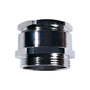 Cable screw glands with hexagonal plug