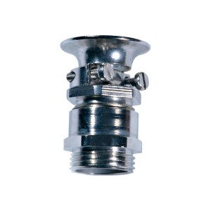 Cable screw glands, with external strain relief and protection against bending IP54