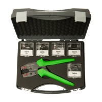 HP-Master® box set with crimping tool and different dies