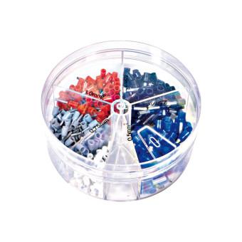 Sortimentsdose Aderendhülsen mit Kunststoffkragen