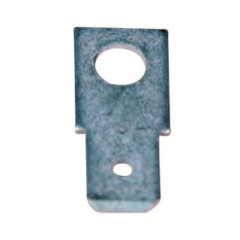 Male Push on Terminals, A 6,3 - 0.8 1000 Pcs