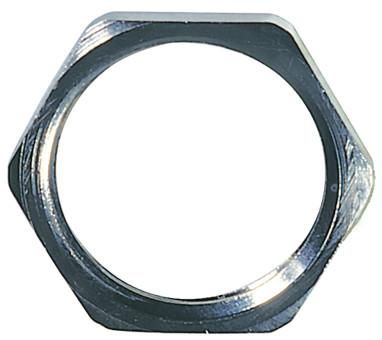 Hexagonal Locknut, brass, PG 13,5