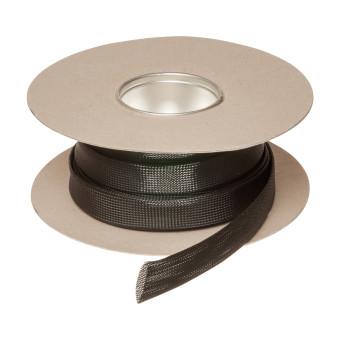 HIL-FLEX® Plastic Braided Sleeving 12/8/17 black
