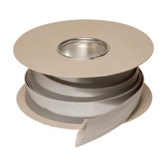 HIL-FLEX® Plastic Braided Sleeving 25/18/34 grey