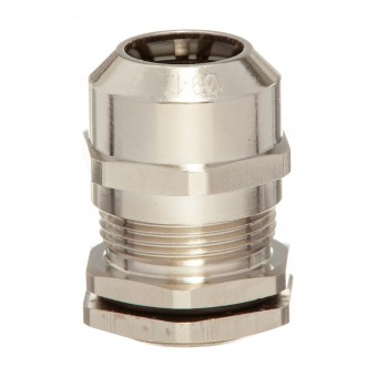 HILPRESS-METEX® Duo, set including cable glands with locknut, brass,  M 32 x 1,5