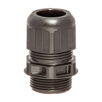 HILPRESS-METEX® Cable Screw Glands, with stress relief, black, M 20 x 1,5 PA