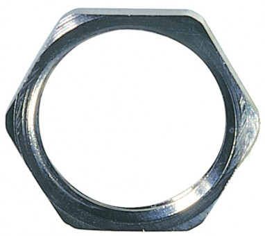 Hegagonal Locknut, brass, PG 7