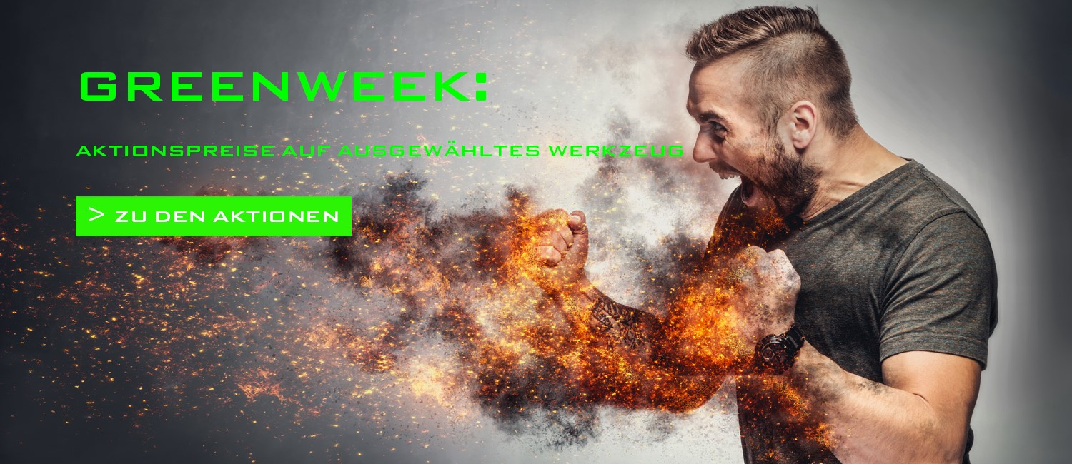 GREENWEEK Aktionspreise